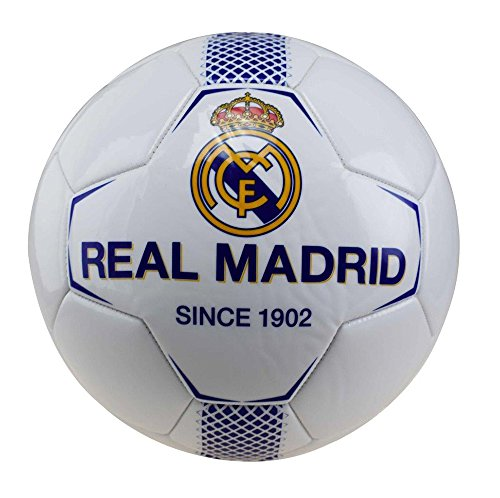Ballon-de-Football-Real-Madrid-Blanc-0