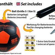 Ballon-de-football-lumineux-NightMatch-pompe--ballons-incluse-Illumin-de-lintrieur-par-deux-LED-lorsque-quon-le-frappe-Lumire-de-nuit-ballon-Taille-5-Taille-et-poids-officiels-Qualit-suprieure-noir-or-0-1