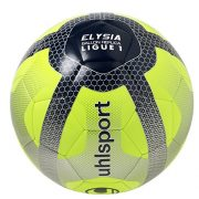 Uhlsport-Elysia-Replica-Ballon-de-Football-Mixte-Adulte-Jaune-FluoBleu-MarineArgent-0-0