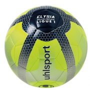 Uhlsport-Elysia-Replica-Ballon-de-Football-Mixte-Adulte-Jaune-FluoBleu-MarineArgent-0