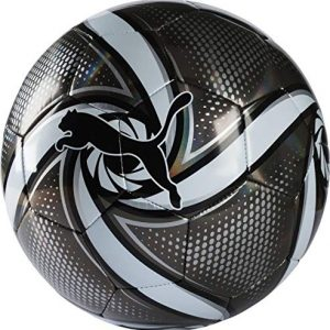 Puma-Future-Flare-Ball-Ballon-De-Foot-Mixte-Adulte-Black-White-Silver-5-0