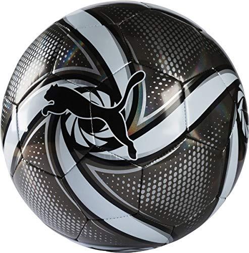 Puma-Future-Flare-Ball-Ballon-De-Foot-Mixte-Adulte-Black-White-Silver-5-0