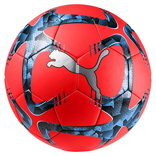 Puma-Future-Flash-Ball-Ballon-De-Foot-Mixte-Adulte-Red-Blast-Black-Bleu-Azur-5-0