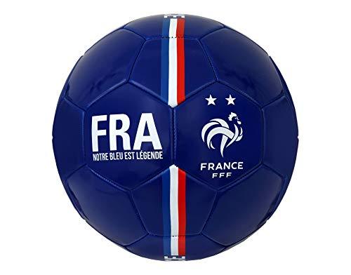 Ballon-de-Football-FFF-2-toiles-Collection-Officielle-Equipe-de-France-Taille-5-0