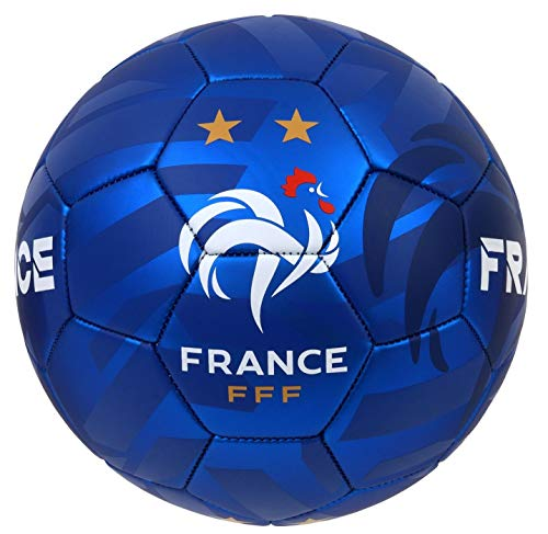 Ballon-de-Football-FFF-2-toiles-Collection-Officielle-Equipe-de-France-de-Football-T-5-0