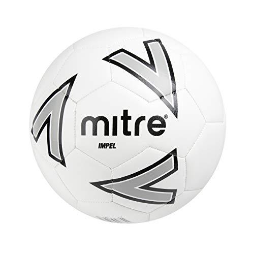 Impel-Ballon-de-football-BlancArgentNoir-0