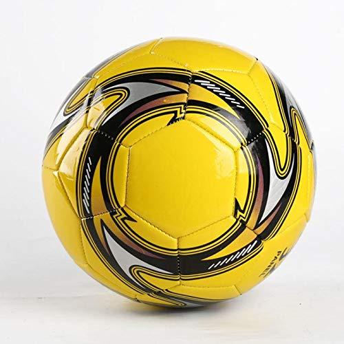 Lonshi-Ballon-de-Football-en-PVC-EVA-Taille-5-Doux-et-lger-pour-lintrieur-et-lextrieur-Jaune-0