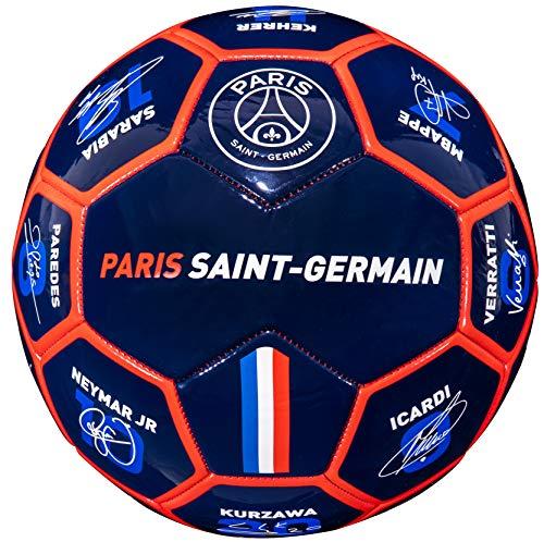 PSG-Ballon-Signatures-des-Joueurs-Neymar-Mbapp-Cavani-Navas-Sarabia-Di-Maria-Collection-Officielle-Paris-Saint-Germain-T-5-0